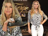 TORONTO, ON - OCTOBER 14:  Fergie appears at Hudson's Bay Queen Street to launch her footwear collections on October 14, 2015 in Toronto, Canada.  (Photo by George Pimentel/WireImage)