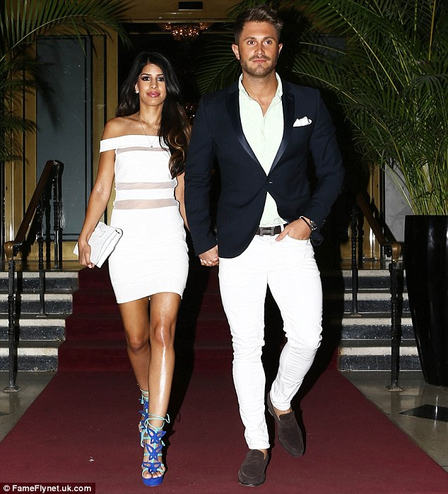 Stateside calling! Jasmin Walia was seen hitting late night party scene with her handsome boyfriend Ross Worswick in Florida on Friday
