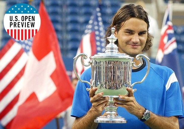A five-time champion, Roger Federer won his first U.S. Open in 2004. (AP Photo)