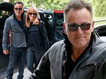 14 October 2015.\nBruce Springsteen and Patti Scialfa are pictured out in NY.\nCredit: BG/GoffPhotos.com   Ref: KGC-300/151014GA1\n**UK, Spain, Italy, China, South Africa Sales Only**