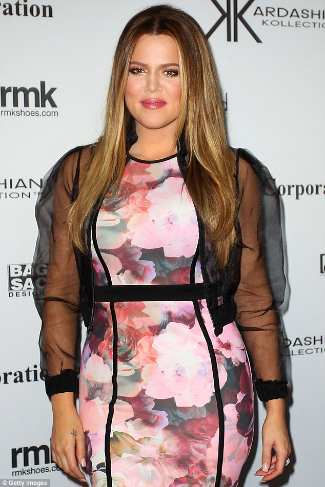 Feeling good: Khloe is now in a much better place in her life and as far as her health is concerned, and often posts motivational messages for her fans on social media