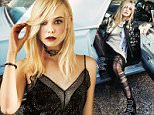 Link Back: http://www.nylon.com/articles/elle-fanning-november-2015-cover\n\n\nHer relationship with her sister, fellow actress Dakota Fanning: ?When we were little we would fight all the time. I?m taller, so I would be the one beating her up? [a fact Dakota corroborated in NYLON?s May cover story].\n \nSusan Sarandon?s take: ?Elle is like a gangly, enthusiastic colt, bounding out of rooms, laughing, and full of fun,? says Sarandon, who plays Ray?s grandmother in the upcoming film. ?Then when it?s time to be in character, she settles down with super-sharp focus and is fierce. She invested so much in Ray and his quest for authenticity that it grounds the film. I can?t imagine anyone else in the part.?\n \nFanning thinks Susan Sarandon is pretty great, too: ?Susan is like a legend, you know? She?s so hot!?\n \nPlaying the transgender title character in About Ray: Part of her preparation for the role included talking with transgender teens. ?They opened up to me in the most incredible wa