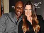 "ORANGE, CA - JUNE 07:  Lamar Odom and Khloe Kardashian make a personal appearance for ""Unbreakable Bond"" at Perfumania on June 7, 2012 in Orange, California.  (Photo by Jason LaVeris/FilmMagic)"