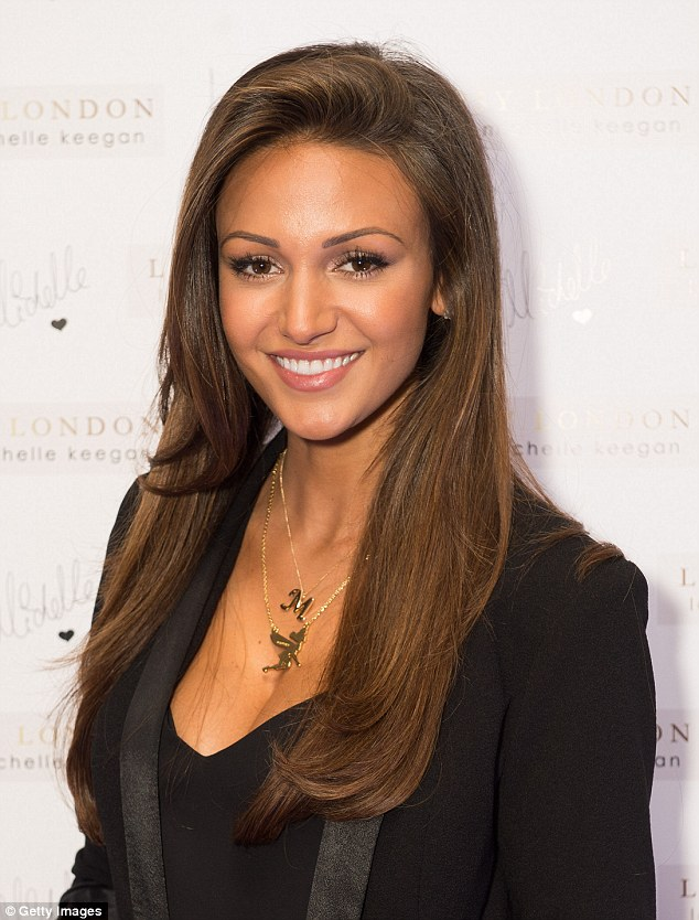 Another day, another award! Actress Michelle Keegan has now been named star with the most desirable locks