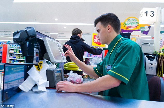 Morrisons found that as many as 60 per cent of shoppers prefer to visit a checkout staffed by a real person