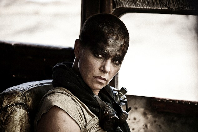 Transformed: Charlize Theron goes bald for her new role as Furiosa in the first exclusive trailer for Mad Max: Fury Road