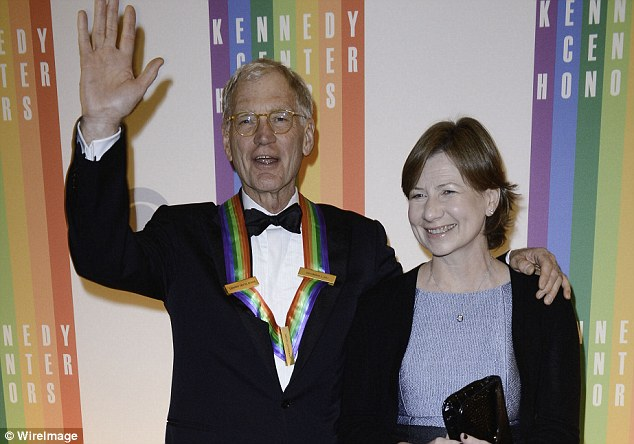 Longtime loves: Letterman married Regina Lasko (above) in 2009, 23 years after they began dating in 1986