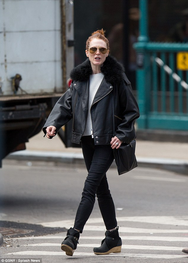 Flaunt what you got: The 54-year-old actress expressed wanting to step up her style while her kids gets older