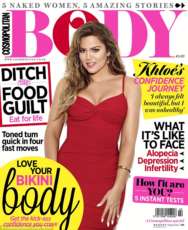 Read all about it: Pick up Cosmo Body - on sale now - to read more of Khloe Kardashian's interview