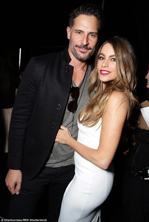 Loved-up: The star is engaged to True Blood hunk Joe Manganiello, so it's no wonder she's been so happy of late