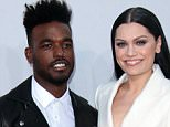 Mandatory Credit: Photo by Jim Smeal/BEI/REX Shutterstock (4267380q)  Luke James and Jessie J  American Music Awards, Arrivals, Los Angeles, America - 23 Nov 2014