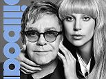 Lady Gaga & Elton John on Billboard Cover