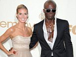 LOS ANGELES, CA - SEPTEMBER 18:  Actress Heidi Klum and actor Seal attends the 63rd Primetime Emmy Awards on September 18, 2011 in Los Angeles, United States.  (Photo by Steve Granitz/WireImage)