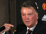 MANCHESTER, ENGLAND - OCTOBER 16:  (EXCLUSIVE COVERAGE)  Manager Louis van Gaal of Manchester United speaks during a press conference at Aon Training Complex on October 16, 2015 in Manchester, England.  (Photo by John Peters/Man Utd via Getty Images)