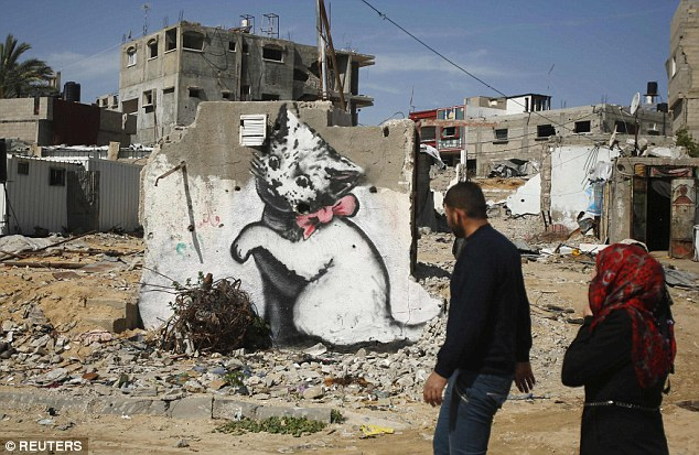 The video shows the squalid conditions Gaza  after the war between Islamist Hamas rulers and Israel