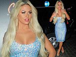 Picture Shows: Bianca Gascoigne  September 19, 2015    Bianca Gascoigne attends the Ginger Martini launch party in London, England. Bianca looked stunning in a sparkly blue dress.    Non Exclusive  WORLDWIDE RIGHTS    Pictures by : FameFlynet UK © 2015  Tel : +44 (0)20 3551 5049  Email : info@fameflynet.uk.com