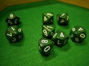 Speckled Recon Dice