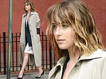 October 16, 2015: Dakota Johnson is seen doing a photoshoot in New York City this morning.\nMandatory Credit: Elder Ordonez/INFphoto.com Ref: infusny-160