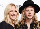 Mandatory Credit: Photo by David Fisher/REX Shutterstock (4818116bv)  Ellie Goulding and Dougie Poynter  Glamour Magazine Women of the Year Awards, London, Britain - 02 Jun 2015