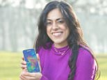 Mail on Sunday Financial Leeds student Gauri Poswal, who is pleased with her mobile phone deal with GiffGaff. Photograph by Richard Walker / www.imagenorth.net