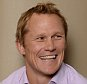 Sir Clive Woodward meets ex rugby player Josh Lewsey.  Pic Andy Hooper/Daily Mail.