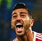 LONDON, ENGLAND - OCTOBER 03:  Graziano Pelle of Southampton celebrates scoring his team's third goal during the Barclays Premier League match between Chelsea and Southampton at Stamford Bridge on October 3, 2015 in London, United Kingdom.  (Photo by Jordan Mansfield/Getty Images)