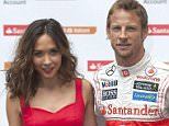 Mandatory Credit: Photo by Ray Tang/REX Shutterstock (2594891c)  Myleene Klass and Jenson Button  Santander Student Current Account, Railcard Offer photocall, London, Britain - 26 Jun 2013