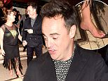 16 Oct 2015 - LONDON - UK  CELEBS ATTEND ANT AND DEC 40TH BIRTHDAY PARTY AT KENSINGTON ROOF GARDEN AND SEEN LEAVING A LIL TIPSY  BYLINE MUST READ : XPOSUREPHOTOS.COM  ***UK CLIENTS - PICTURES CONTAINING CHILDREN PLEASE PIXELATE FACE PRIOR TO PUBLICATION ***  **UK CLIENTS MUST CALL PRIOR TO TV OR ONLINE USAGE PLEASE TELEPHONE   44 208 344 2007 **