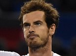 Andy Murray of Britain celebrates after his men's singles quarter-final match against Tomas Berdych of the Czech Republic at the Shanghai Masters tennis tournament in Shanghai on October 16, 2015.JOHANNES EISELE/AFP/Getty Images
