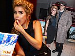 """LONDON, ENGLAND - OCTOBER 15:  Paloma Faith (L) and Leyman Lahcine attend a screening of """"Youth"""" during the BFI London Film Festival at Vue West End on October 15, 2015 in London, England.   Pic Credit: Dave Benett"""