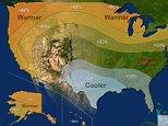 Precipitation - U.S. Winter Outlook: 2015-2016  (Credit: NOAA)