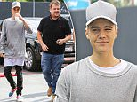 """Beverly Hills, CA - Justin Bieber gets together with talk show host James Corden and visits Maxfield's with a film crew.  Looks like James and Justin also filmed a new Carpool Karaoke segment for James' show, """"The Late Late Show with James Corden"""", as his Range Rover was covered with cameras all over the windshield.\nAKM-GSI       October 15, 2015\nTo License These Photos, Please Contact :\nSteve Ginsburg\n(310) 505-8447\n(323) 423-9397\nsteve@akmgsi.com\nsales@akmgsi.com\nor\nMaria Buda\n(917) 242-1505\nmbuda@akmgsi.com\nginsburgspalyinc@gmail.com"""