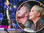 EXCLUSIVE: Sean Penn and comedian Amy Schumer sit front row during Madonna's 'Rebel Heart' Tour Stop in Vancouver. The former ex-husband was all smiles, clapping and admiring Madonna's performance, whilst Amy Schumer cheers and sings along.\n\nPictured: Madonna, Sean Penn, Amy Schumer\nRef: SPL1152384  151015   EXCLUSIVE\nPicture by: Splash News\n\nSplash News and Pictures\nLos Angeles: 310-821-2666\nNew York: 212-619-2666\nLondon: 870-934-2666\nphotodesk@splashnews.com\n