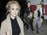 Picture Shows: Jennifer Metcalfe, Jorgie Porter  October 16, 2015\n \n Celebrities and guests arrive at the TFI Friday recording at a secret location in Central London, UK. \n \n Non-Exclusive\n WORLDWIDE RIGHTS\n \n Pictures by : FameFlynet UK © 2015\n Tel : +44 (0)20 3551 5049\n Email : info@fameflynet.uk.com