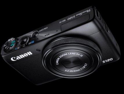 Canon PowerShot S120 negro