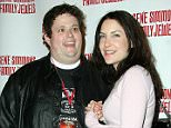 Celebrities exhibit questionable behaviour and fashion at the Gene Simmons Roast at the Key Club in West Hollywood, CA. ....Pictured:  Ralphie May and wife Lahna Turner ....Ref: SPL9836 271107 ..Picture by: Tonya Wise / London Entertainment / Splash ....Splash News and Pictures..Los Angeles: 310-821-2666..New York: 212-619-2666..London: 870-934-2666..photodesk@splashnews.com..