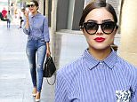 Exclusive GBP 40 PER PIC\n Mandatory Credit: Photo by Startraks Photo/REX Shutterstock (5254600d)\n Olivia Culpo\n Olivia Culpo out and about, Los Angeles, America - 15 Oct 2015\n Olivia Culpo Sighting in West Hollywood\n