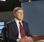 """In this image released by Sony Pictures Classics, Robert Redford portrays Dan Rather in a scene from, """"Truth."""" CBS has refused to run advertising for """"Truth,"""" the film starring Cate Blanchett and Robert Redford that revisits a painful episode in the network's past involving a discredited 2004 news story on former President George W. Bush's military service record. CBS has denounced the movie, which opens Friday, as a disservice to the public and journalists. (Lisa Tomasetti /Sony Pictures Classics via AP)"""