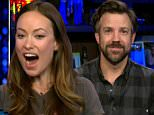 olivia wilde watch what happens live jason sudeikis