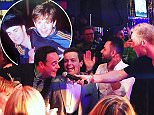 ant & dec 40ith birthday party