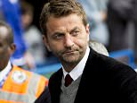 LONDON, ENGLAND - OCTOBER 17 : Tim Sherwood manager of Aston Villa during the Barclays Premier League match between Chelsea and Aston Villa at Stamford Bridge on October 17, 2015 in London, England. (Photo by Neville Williams/Aston Villa FC via Getty Images)