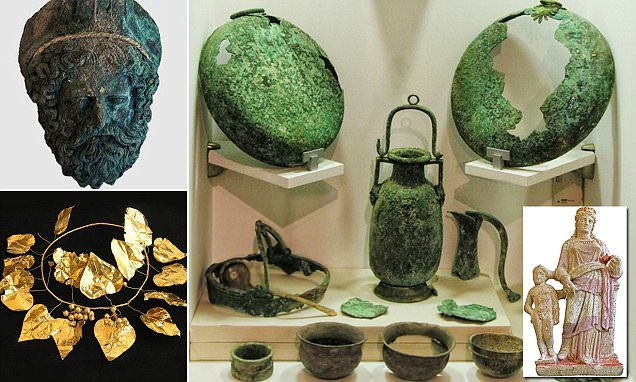 Ancient tombs in Cyprus reveal items shed on trade routes in Europe 2,.4k years ago