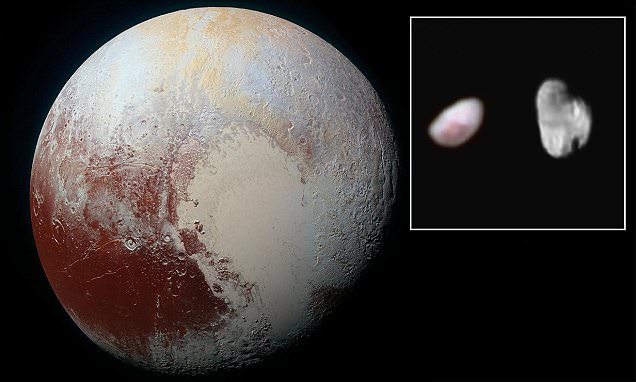 Nasa reveals first results from New Horizons' historic flyby of Pluto