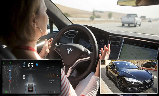 Tesla's Model S autopilot can steer, park and change lanes by ITSELF