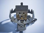 A house set in a bear trap.  In relation to a Money Mail article on house prices  housing trap