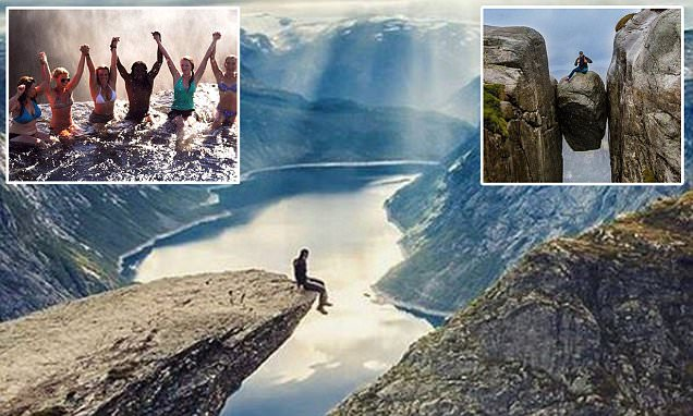 Instagram hot spots that tourists risk their lives visiting for holiday snap