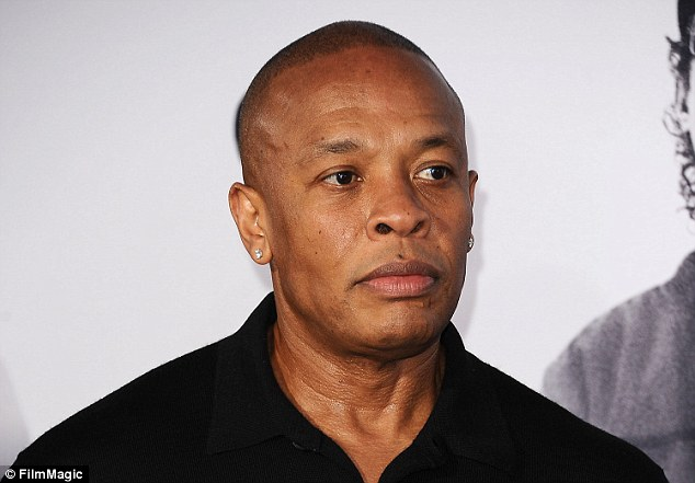 A housekeeper who was fired from her job working at Dr Dre's (above) California home has filed a lawsuit