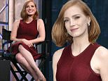 Mandatory Credit: Photo by Henry Lamb/Photowire/BEImage/REX Shutterstock (5262686b)\n Jessica Chastain\n 'The Late Show with Stephen Colbert', New York, America - 16 Oct 2015\n \n