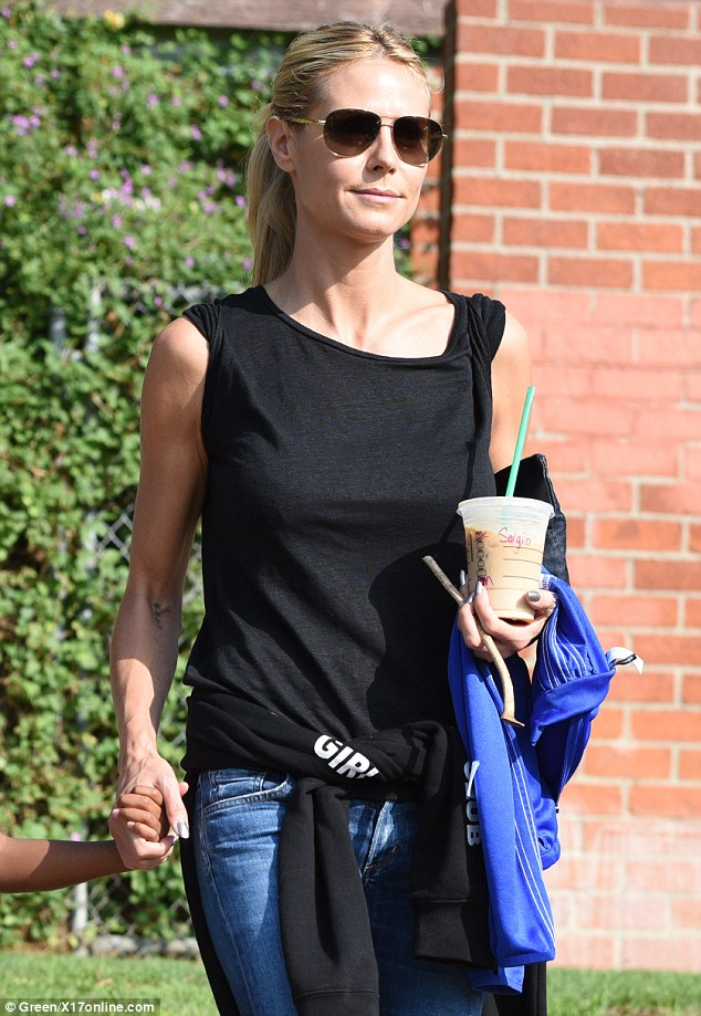 Pseudonym? The actress' Starbucks cup appeared to be marked with a different name than her own