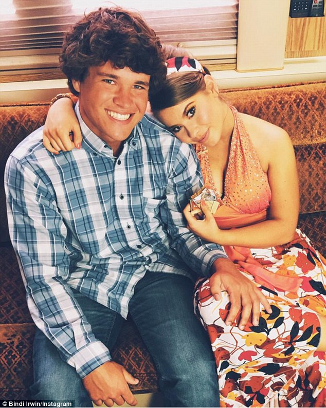 Young love: She took to Instagram this week to gush about her boyfriend, Chandler Powell, 18